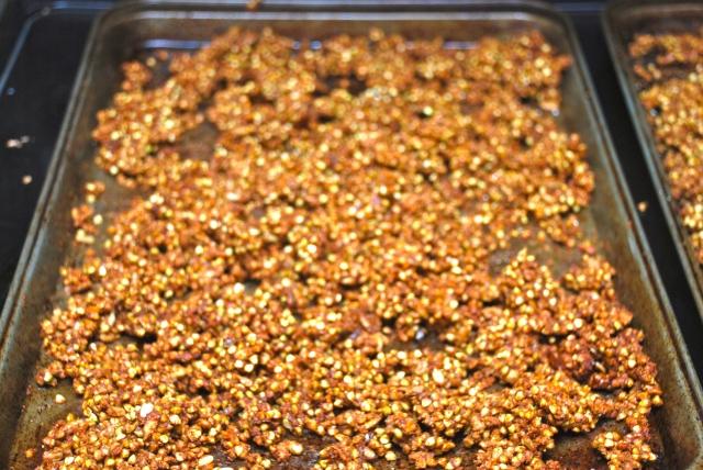 Buckwheat Clusters / Granola