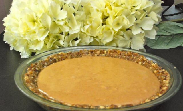 Raw Vanilla Cashew Tart