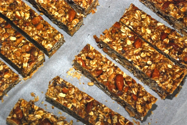 5 ingredient granola bars